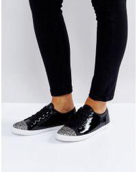 Carvela Kurt Geiger - Patent Sneaker - Lyst