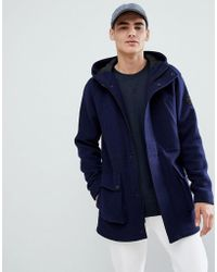 Only & Sons - Wool Parka - Lyst