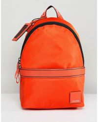 CALVIN KLEIN 205W39NYC - Bright Nylon Backpack - Lyst