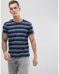 Esprit - T-shirt With Double Stripe - Lyst