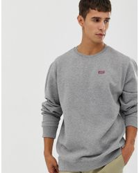 Vans - Checkerboard Sweatshirt In Grey - Lyst