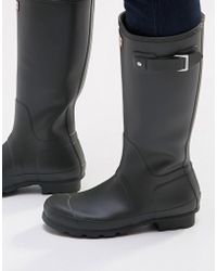 HUNTER - Original Wellies - Lyst