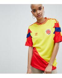 adidas Originals - Colombia Mashup Football Shirt - Lyst