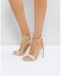 Office - Hollywood Blush Heeled Sandals - Lyst