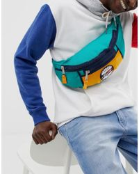 Tommy Hilfiger - Bumbag With Signature Logo In Green - Lyst
