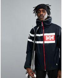 Helly Hansen - Salt Power Jacket In Navy - Lyst