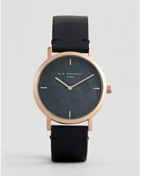 Elie Beaumont - Eb814.5 Watch With Gold Case And Leather Strap - Lyst