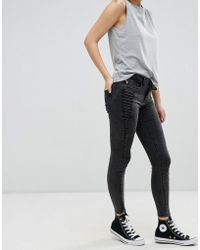 ONLY - Royal Zip Ankle Skinny Jeans - Lyst