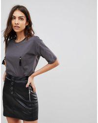 ASOS - T-shirt With Nipple Tassels - Lyst