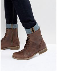 Steve Madden - Troopah Boots In Brown - Lyst
