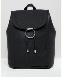 New Look - Ring Detail Backpack - Lyst