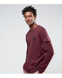Cheap Monday - Gazer Long Sleeve T-shirt Terry Pocket - Lyst