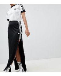 adidas Originals - Fashion League Maxi Skirt With Extreme Slit - Lyst