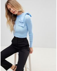 Ted Baker - Heliny Bow Jumper - Lyst