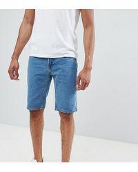 D-Struct - Tall Denim Shorts - Lyst
