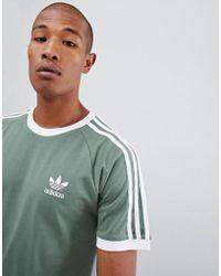 adidas Originals - California T-shirt In Green Dv2553 - Lyst