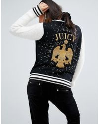 Juicy Couture - Varsity Jacket With Eagle - Lyst