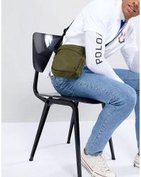 New Look - Cross Body Bag In Khaki - Lyst