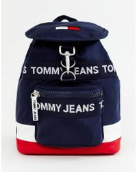 Tommy Hilfiger - Rugzak Met Logo - Lyst
