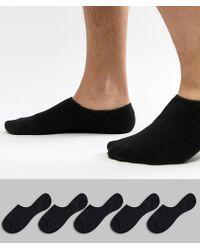 Jack & Jones - Invisible Socks 5 Pack - Lyst
