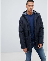 Threadbare - Hooded Parka Jacket - Lyst