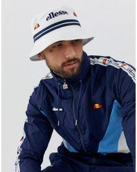 926a7188 Ellesse Lorenzo Bucket Hat in Blue for Men - Lyst
