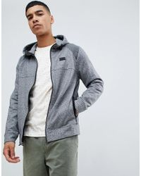 Abercrombie & Fitch - Performance Sports Hoodie In Grey Marl - Lyst