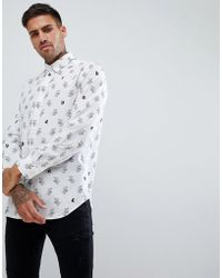 DIESEL - S-rabbit All Over Print Shirt - Lyst