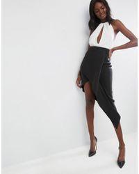 ASOS - Origami Rib Pencil Skirt - Lyst