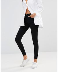 Dr. Denim - Lexy Mid Rise Second Skin Superskinny Jeans - Lyst