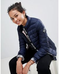 Hollister - Down Padded Jacket - Lyst