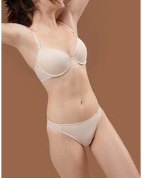 DORINA - Tone On Tone Isabelle Nude Thong In Fair - Lyst