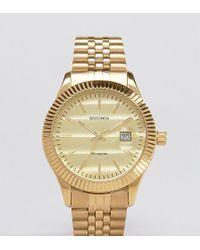 Sekonda - Gold Bracelet Watch Exclusive To Asos - Lyst