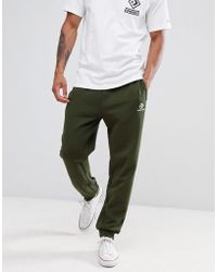 Converse - Skinny Joggers In Green 10009142-a01 - Lyst