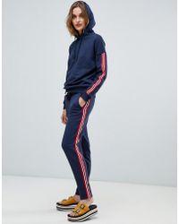 Esprit - Side Stripe Joggers - Lyst