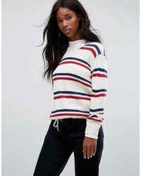 Carhartt WIP - Jumper With Stripe In Wool Mix - Lyst