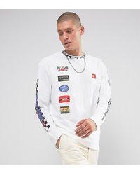PUMA - Moto Racing Print Long Sleeve Top Exclusive To Asos - Lyst