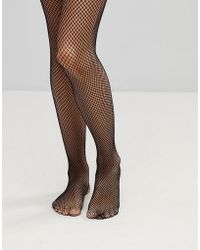 Leg Avenue - Fishnet Garterbelt Stocking - Lyst