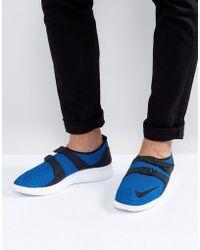 Nike Air Sockracer Formateurs Ultra Soi En Bleu 918244-400 - Bleu UJ1YWNR4yq