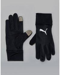 PUMA - Running Performance Gloves In Black 04129401 - Lyst