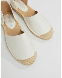 Truffle Collection - Stud Ankle Espadrille - Lyst