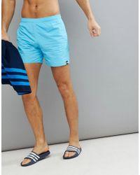 adidas - Swim Shorts In Blue Cv5130 - Lyst