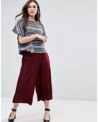 d.RA - Oversized Culottes - Lyst