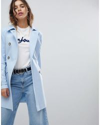 Miss Selfridge - Exclusive Belted Trench - Lyst