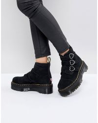 Dr. Martens - X Lazy Oaf Boots In Black - Lyst
