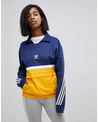 adidas Originals - Originals Nova Colour Block Pullover Jacket - Lyst