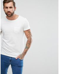 Lee Jeans - Jeans Pocket T-shirt With Lower Front Tab - Lyst