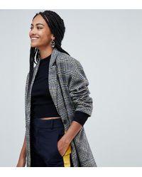 Esprit - Tailored Check Coat - Lyst