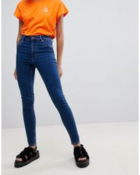 Cheap Monday - High Spray Skinny Jeans - Lyst