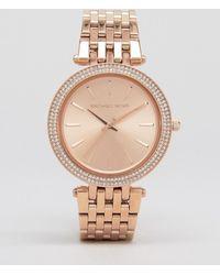 Michael Kors - Mk3192 Darci Rose Gold Watch - Lyst